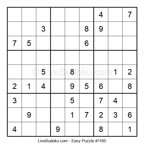 Beginners Puzzle #1195