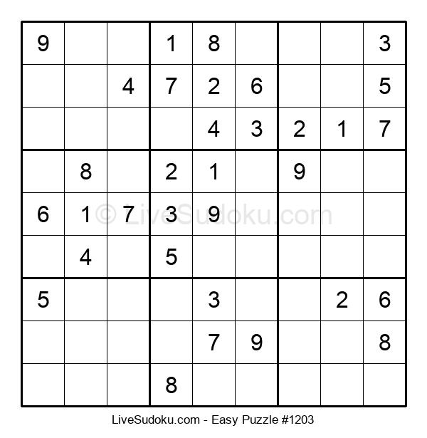 Beginners Puzzle #1203