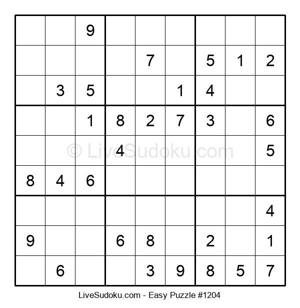 Beginners Puzzle #1204