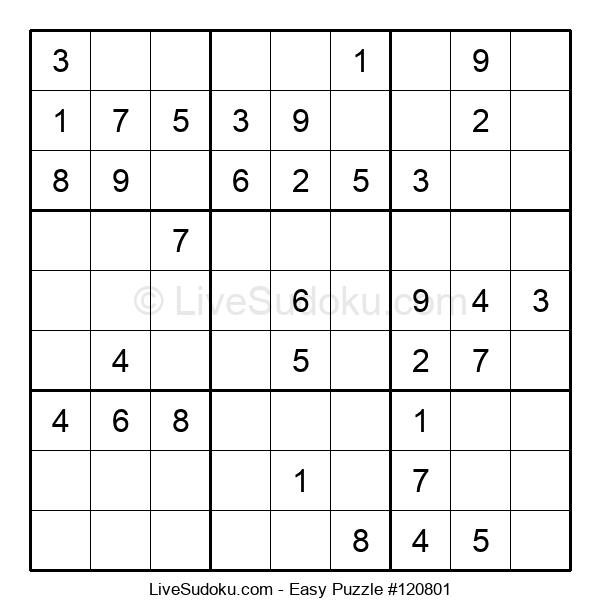 Beginners Puzzle #120801