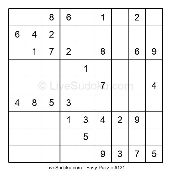 Beginners Puzzle #121