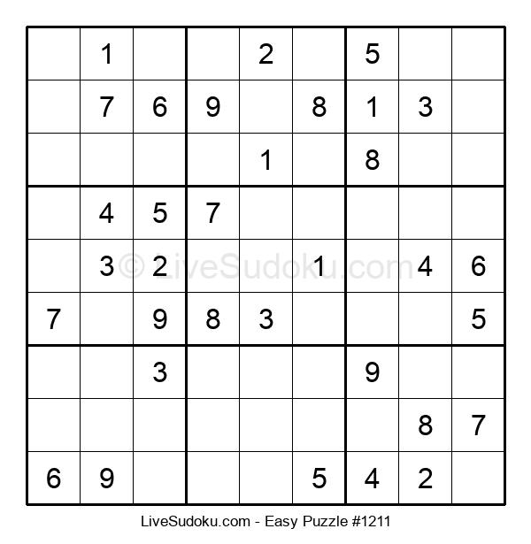 Beginners Puzzle #1211