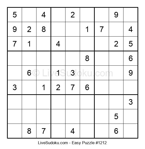 Beginners Puzzle #1212