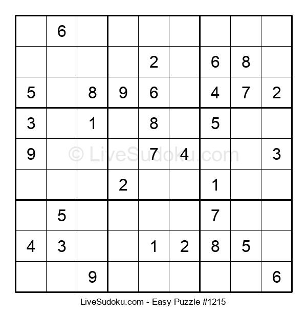 Beginners Puzzle #1215