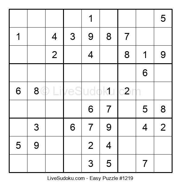 Beginners Puzzle #1219