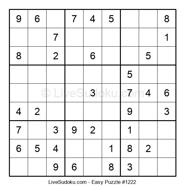 Beginners Puzzle #1222
