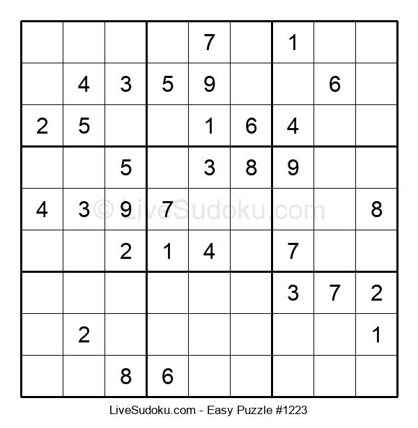 Beginners Puzzle #1223