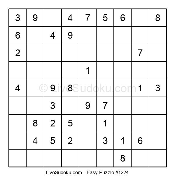 Beginners Puzzle #1224