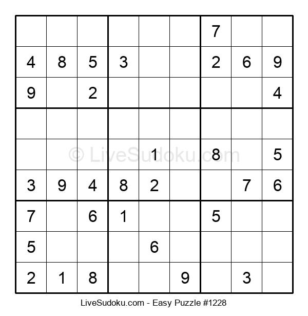 Beginners Puzzle #1228