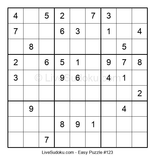 Beginners Puzzle #123