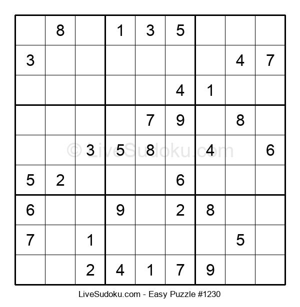 Beginners Puzzle #1230