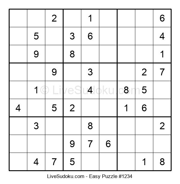 Beginners Puzzle #1234