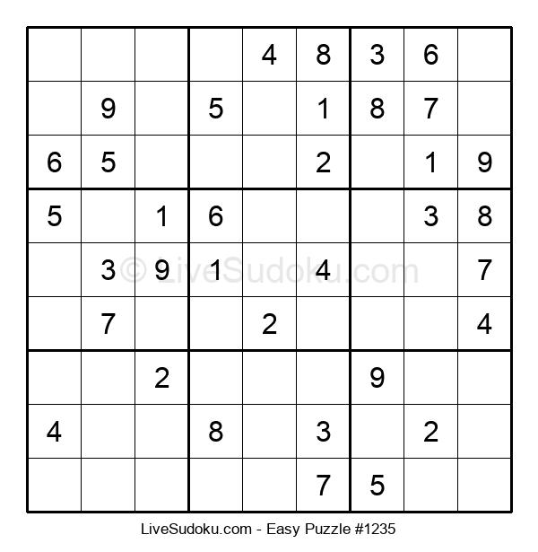 Beginners Puzzle #1235