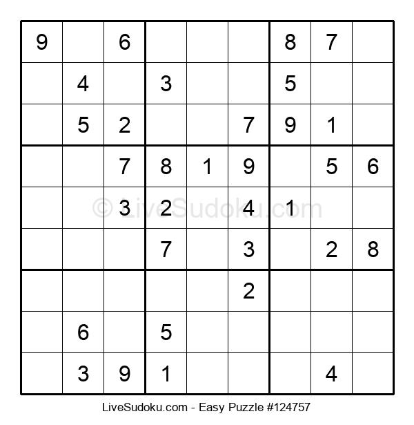 Beginners Puzzle #124757