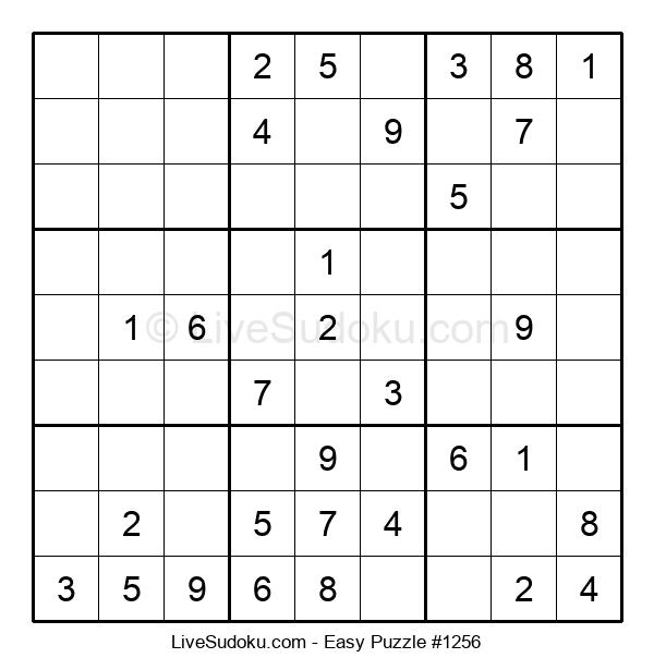 Beginners Puzzle #1256