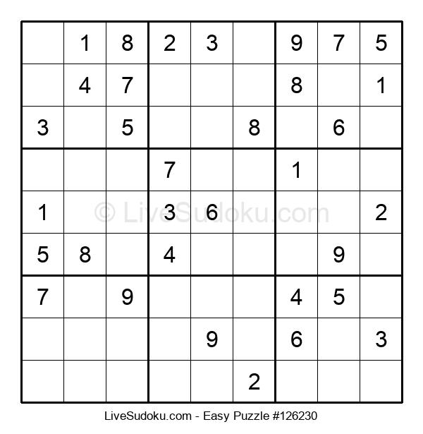 Beginners Puzzle #126230