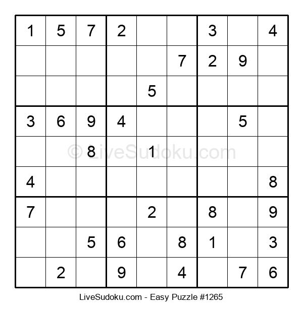 Beginners Puzzle #1265