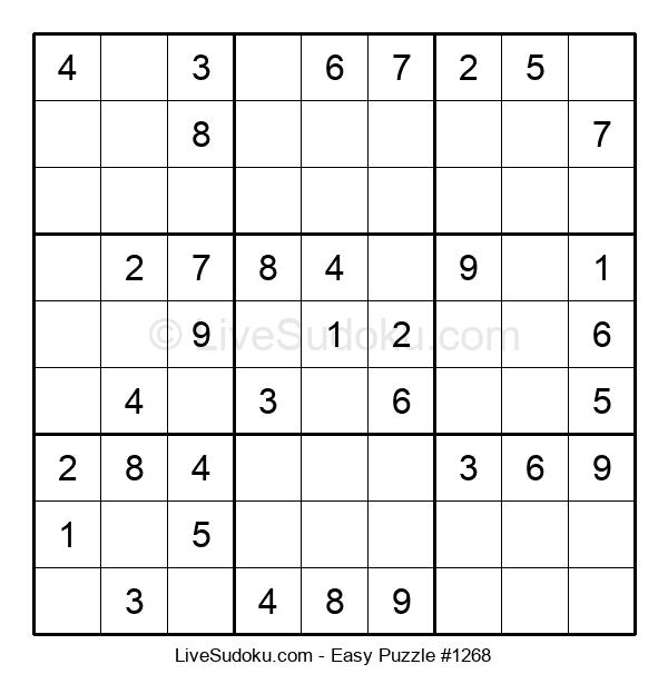 Beginners Puzzle #1268