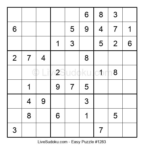 Beginners Puzzle #1283