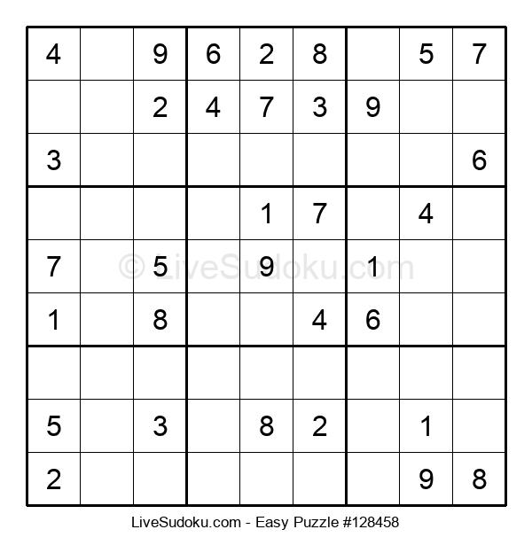 Beginners Puzzle #128458