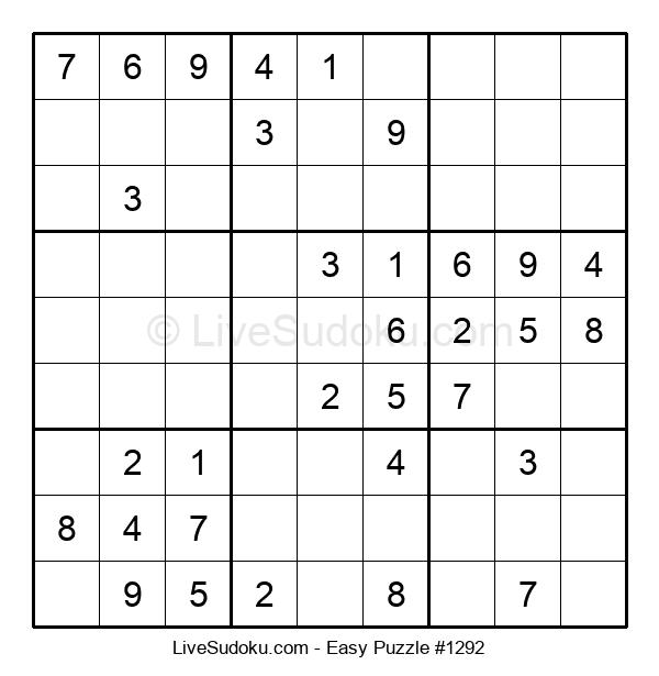 Beginners Puzzle #1292