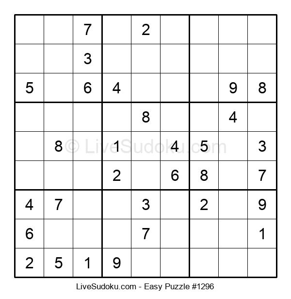 Beginners Puzzle #1296