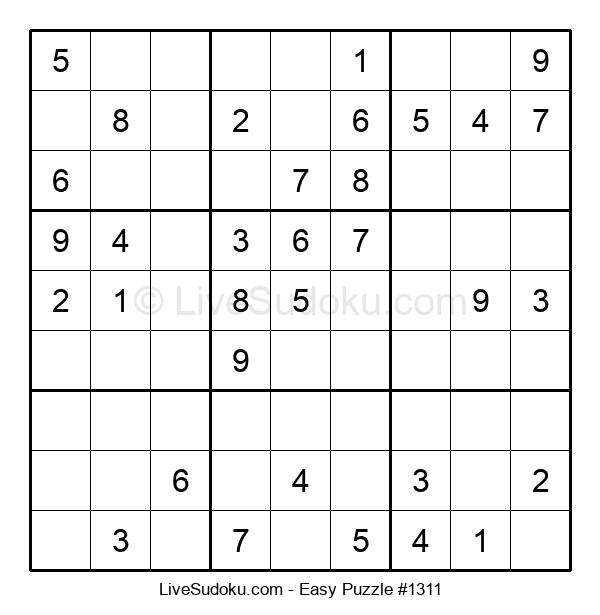 Beginners Puzzle #1311