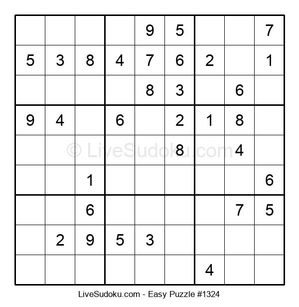 Beginners Puzzle #1324