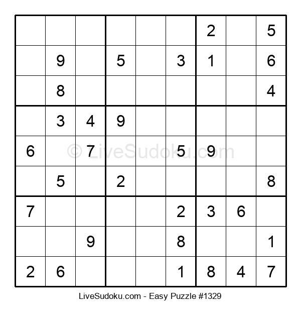 Beginners Puzzle #1329