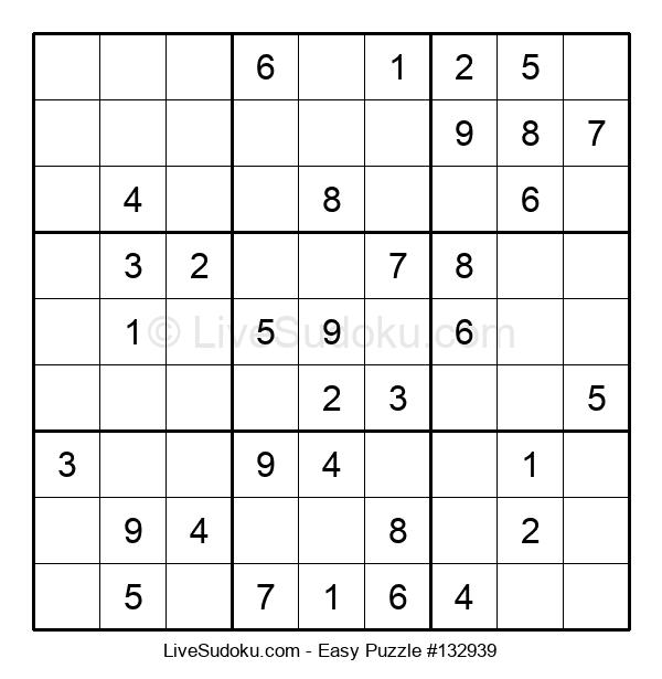 Beginners Puzzle #132939