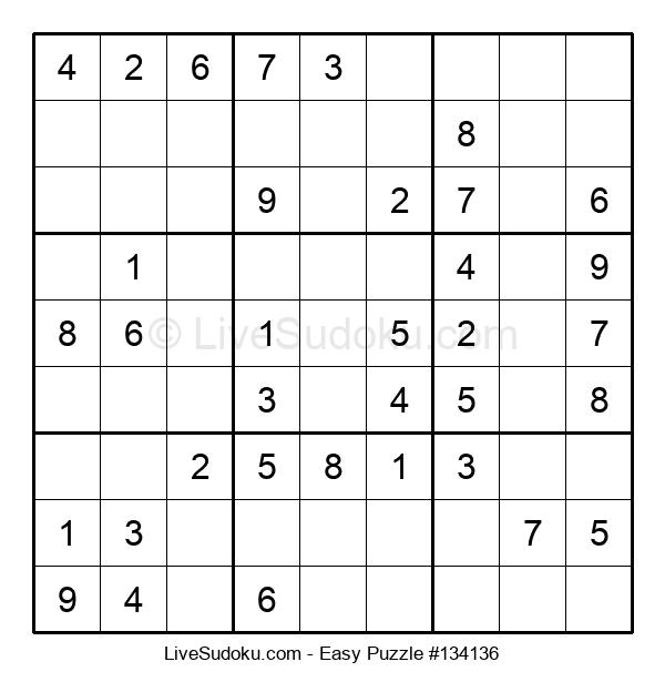 Beginners Puzzle #134136