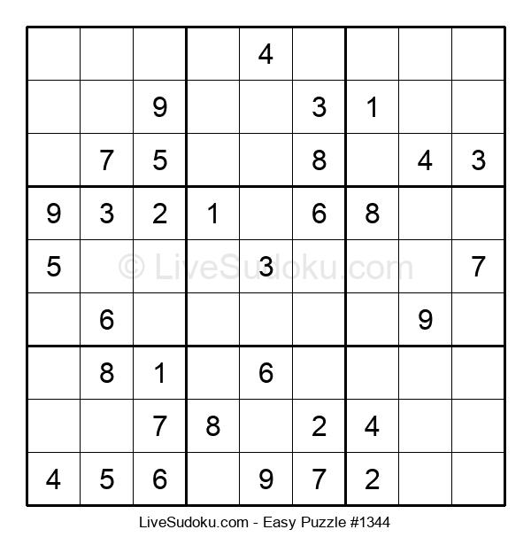Beginners Puzzle #1344