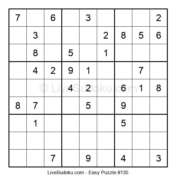 Beginners Puzzle #135