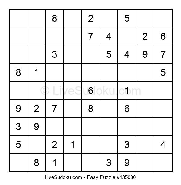 Beginners Puzzle #135030