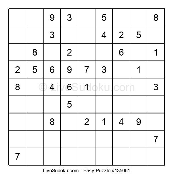 Beginners Puzzle #135061