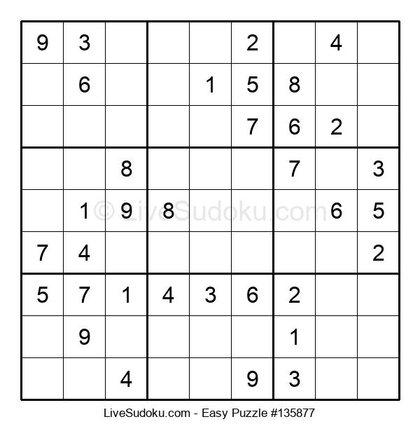 Beginners Puzzle #135877