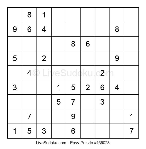 Beginners Puzzle #136028