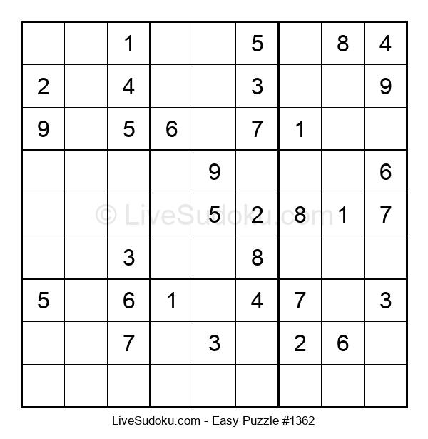 Beginners Puzzle #1362