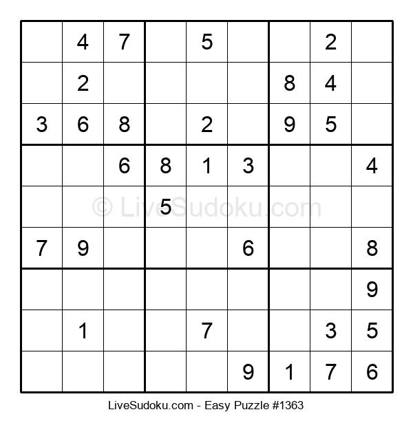 Beginners Puzzle #1363