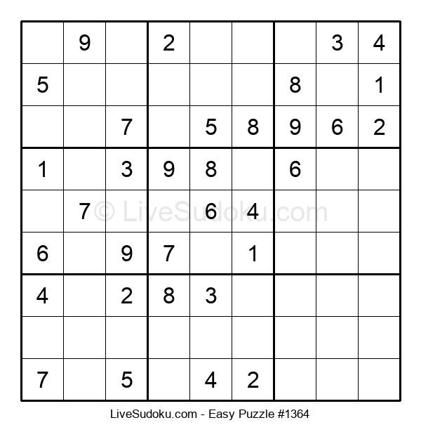 Beginners Puzzle #1364