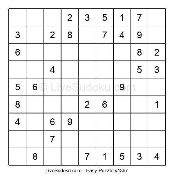 Beginners Puzzle #1367