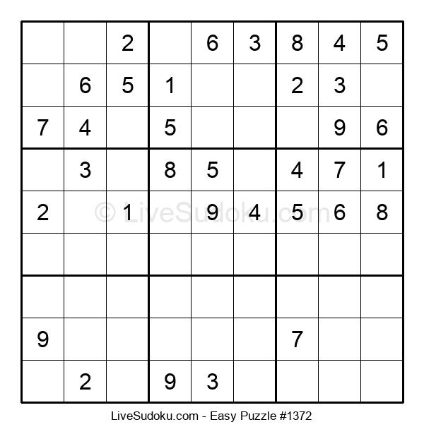 Beginners Puzzle #1372