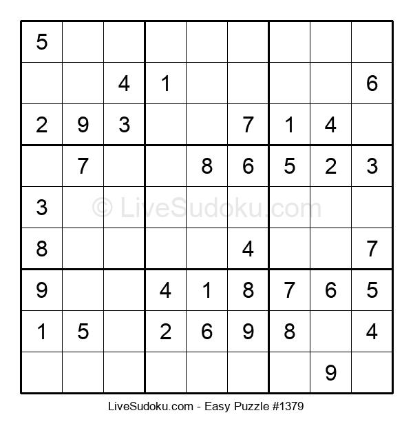 Beginners Puzzle #1379