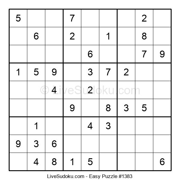 Beginners Puzzle #1383