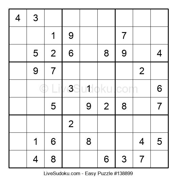 Beginners Puzzle #138899