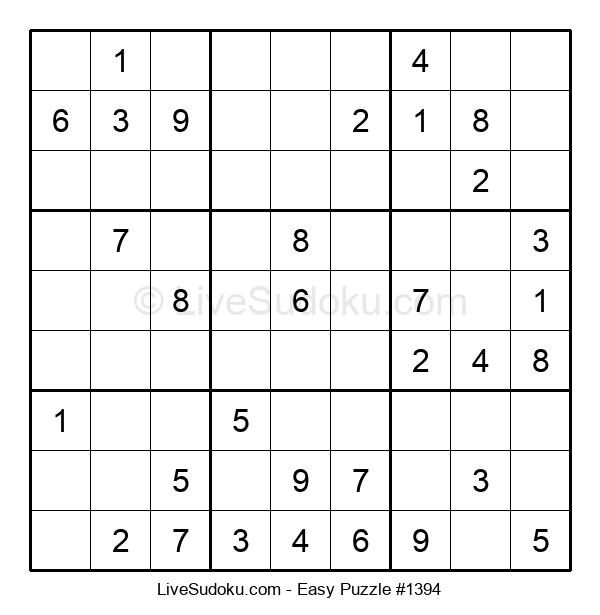 Beginners Puzzle #1394