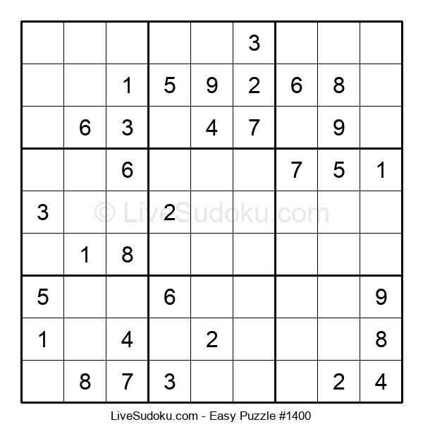 Beginners Puzzle #1400