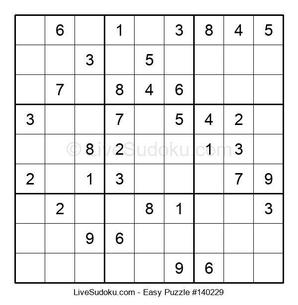 Beginners Puzzle #140229