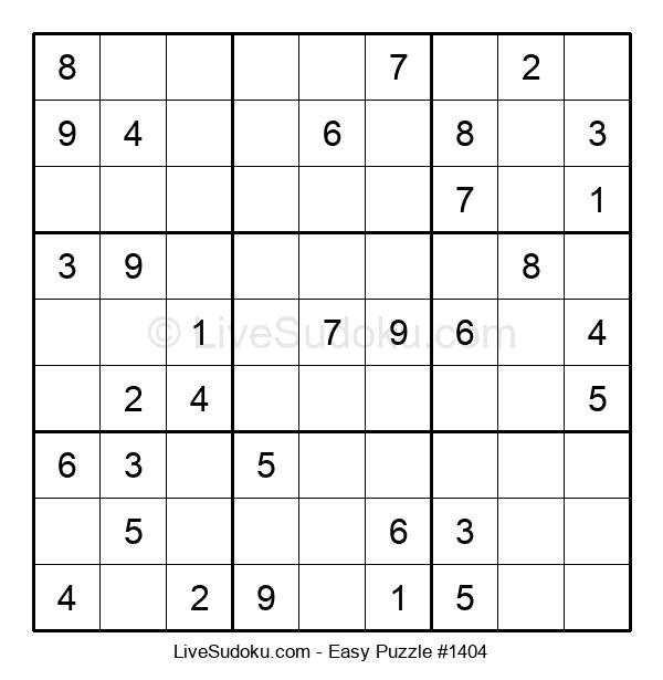 Beginners Puzzle #1404