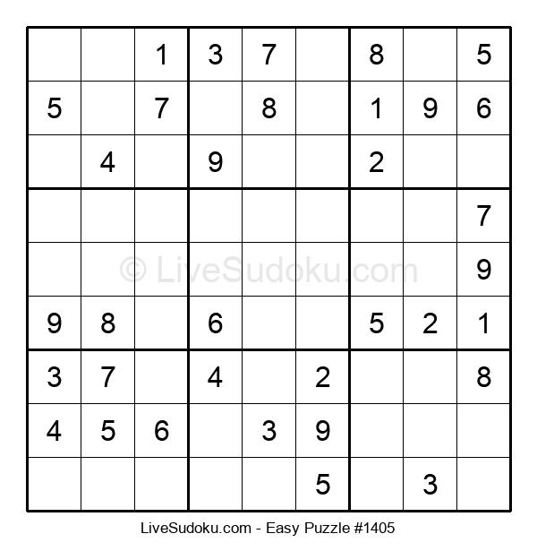 Beginners Puzzle #1405